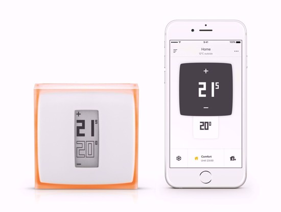 The thermostat also comes with a Netatmo app so you can easily control your heating from your smart phone.