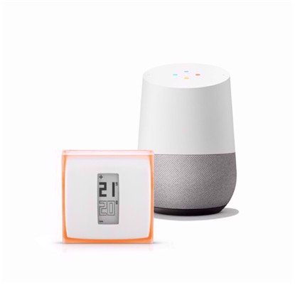 Netatmo Thermostat  & Google Home