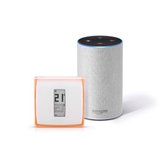 Bundle: Netatmo Thermostat + Amazon Echo (2nd Gen)