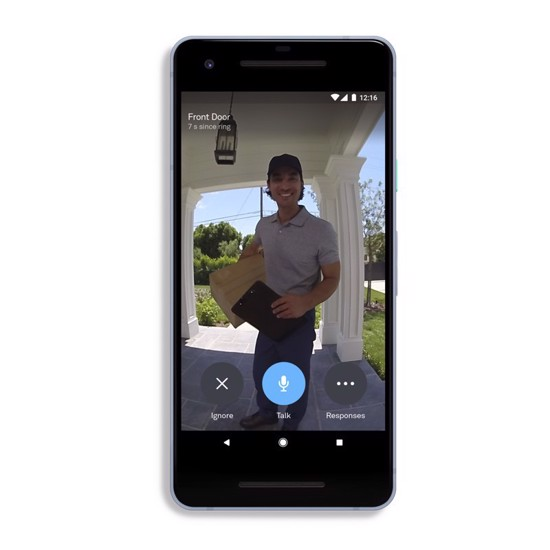 Picture of Google Nest Hello Video Doorbell + Install