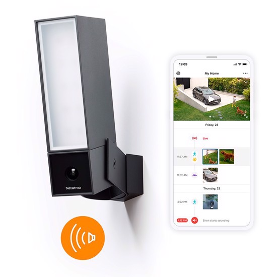 Picture of Netatmo Smart Outdoor Camera with Siren + Install
