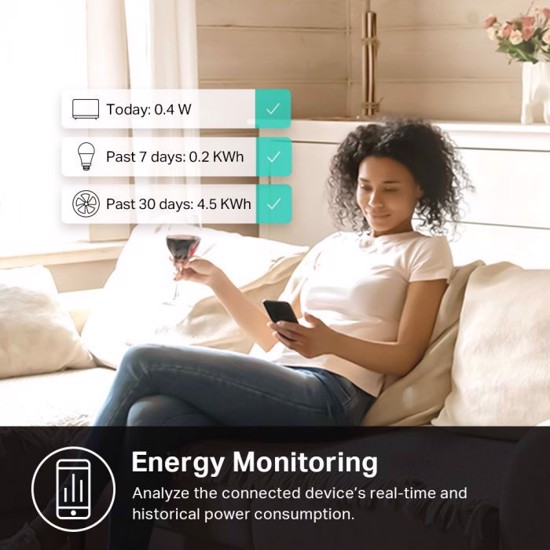 Picture of TP-LINK Kasa Smart WiFi Plug Slim with Energy Monitor